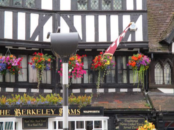 Attractive hanging baskets everywhere