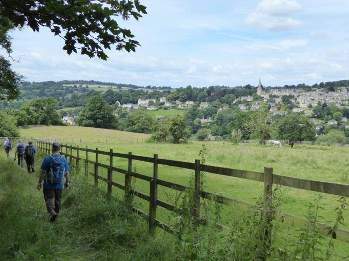 Painswick is soon in sight