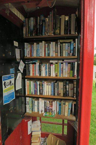 Another telephone box library
