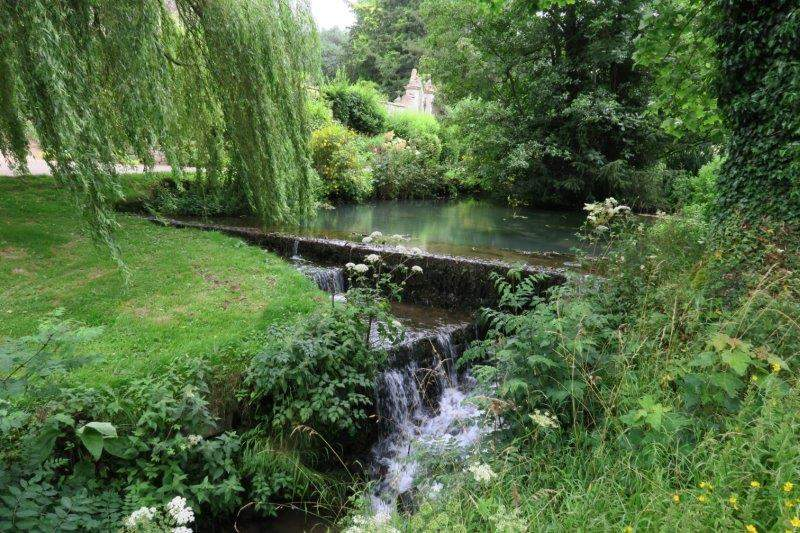 Painswick stream in the grounds of Tocknells Court