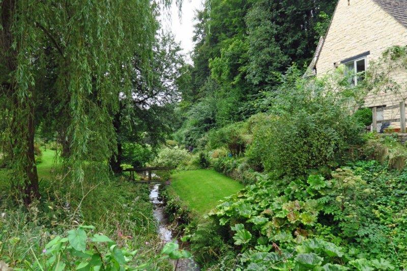 Down Hay Lane and over Hartley Bridge
