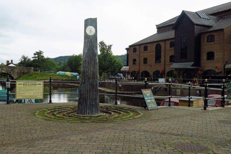 The canal basin and theatre