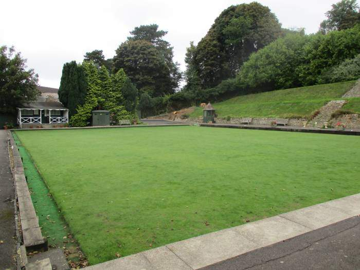 And a bowling green