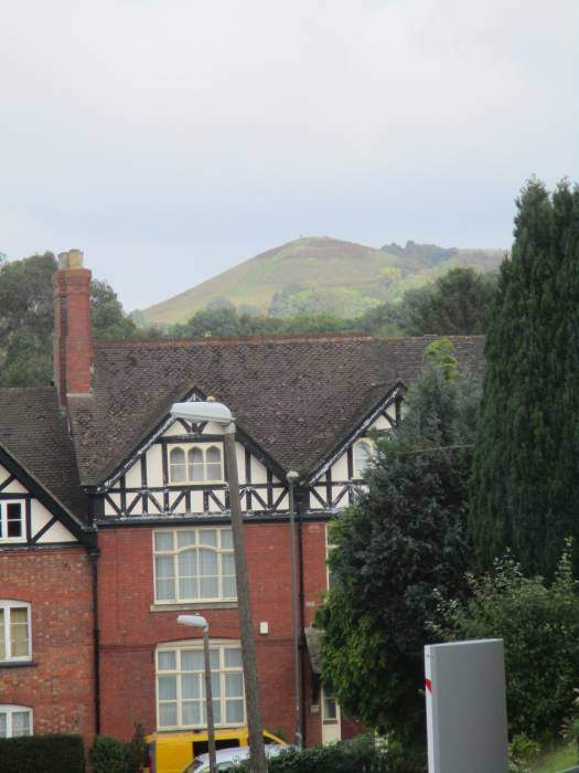 We head back into Dursley, with more views of Cam Peak.