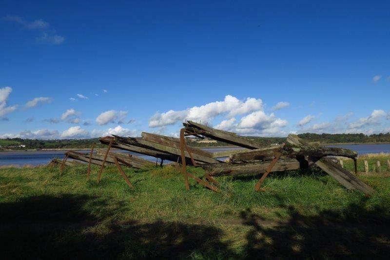 Even wooden wrecks