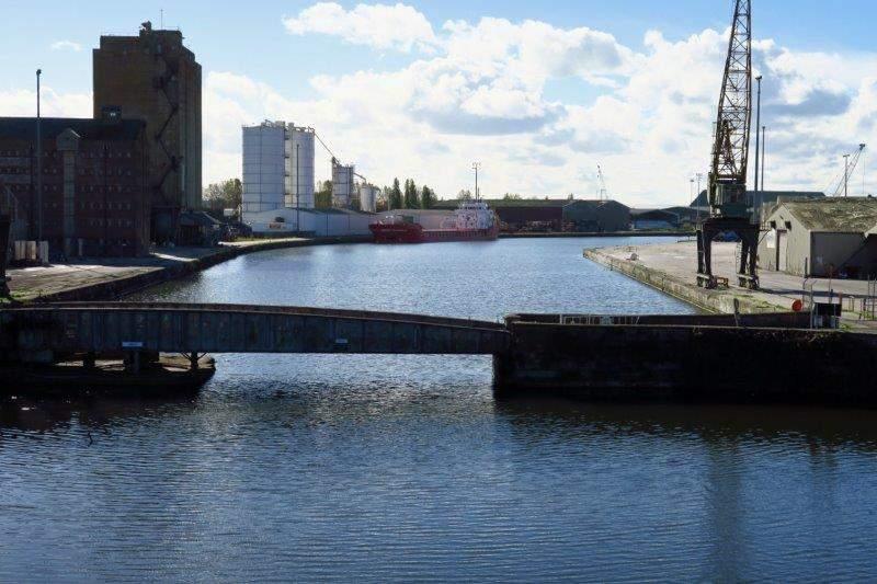 As we circle the Docks