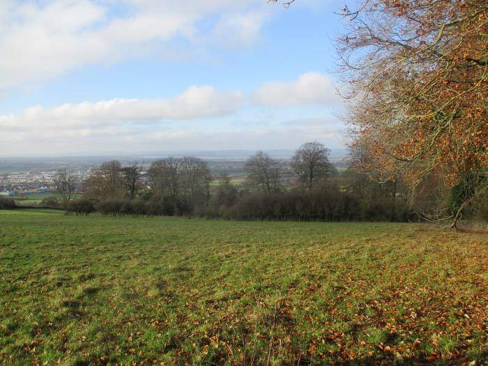 With views across the Severn