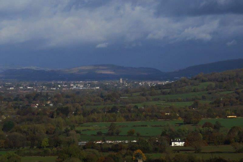 Cheltenham up the valley
