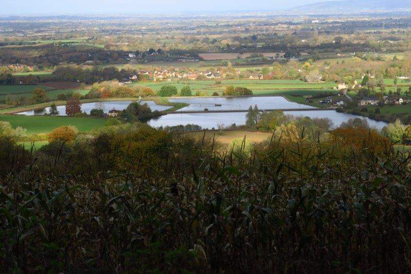 Once more with the lakes in view