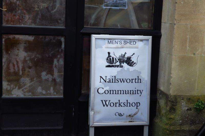 And no town should be without a Men's Shed - no women allowed!