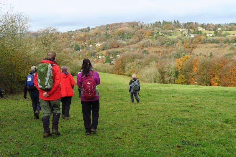 Making our way back down to Nailsworth