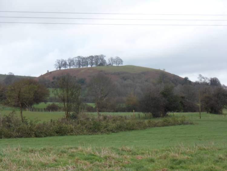 Smallpox Hill to the right