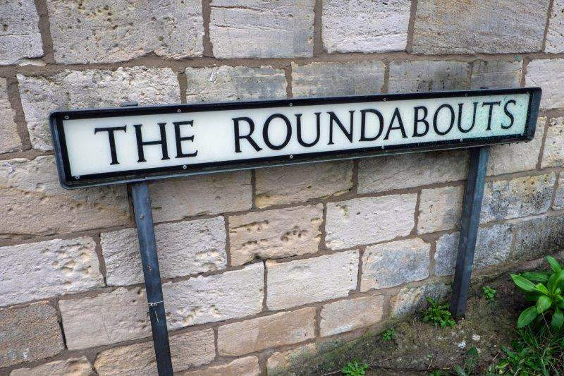 Our route takes us to the Roundabouts