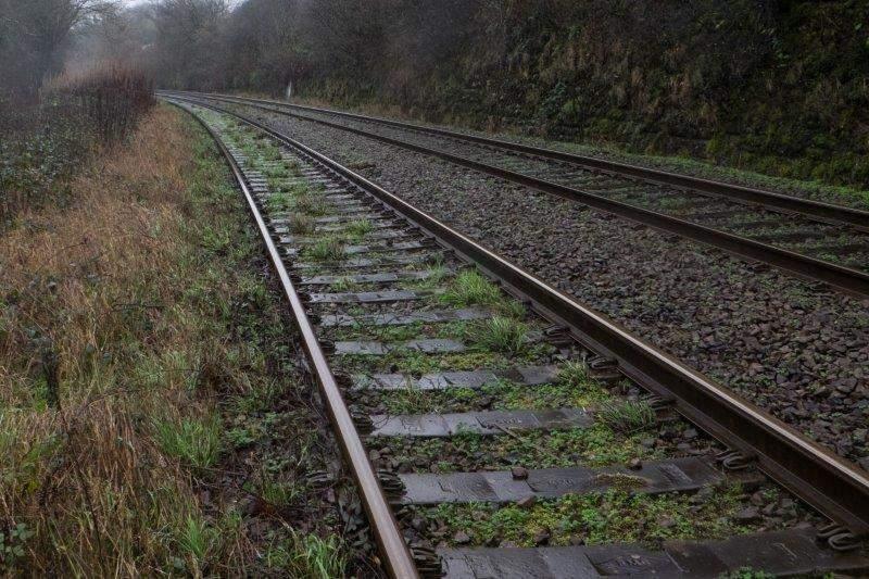 Over the railway