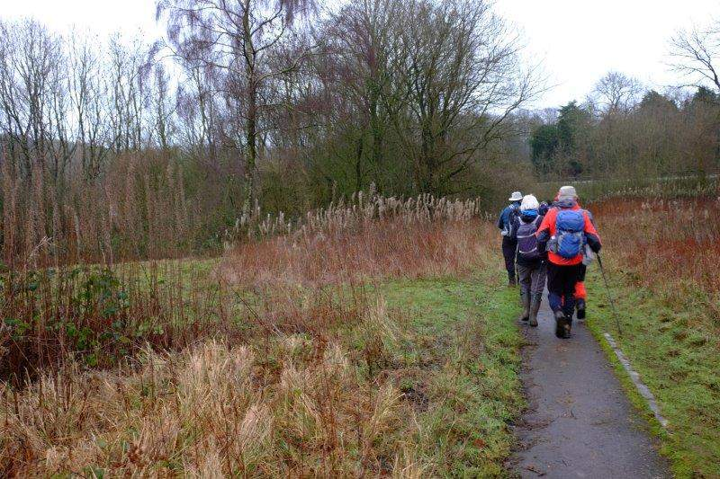 Before Sue leads us off along the Cotswold Way