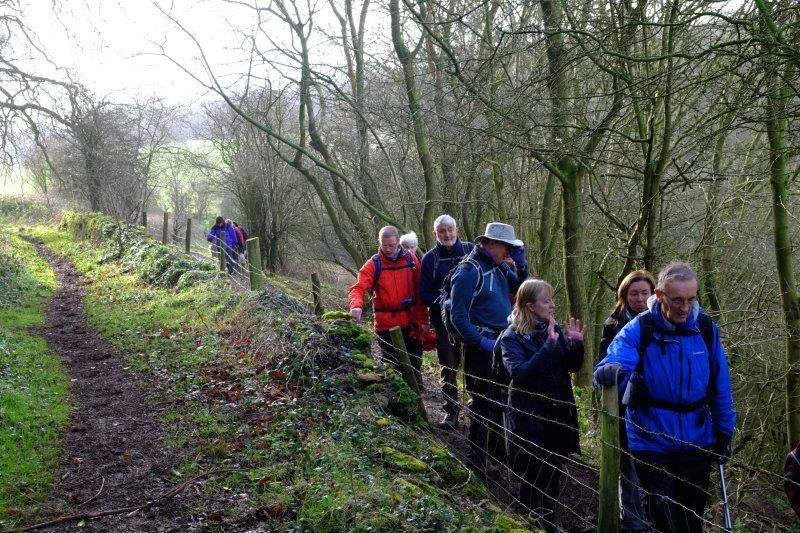 Where we continue along the Cotswold Way