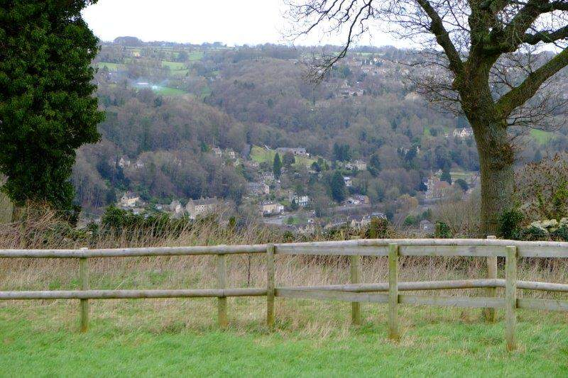 With views of Chalford in the valley