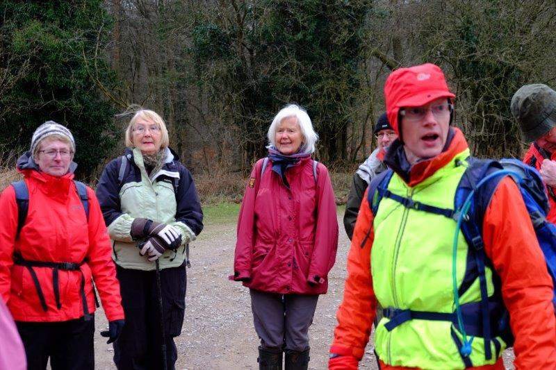South Cots have journeyed to Cinderford for a walk led by Andrew