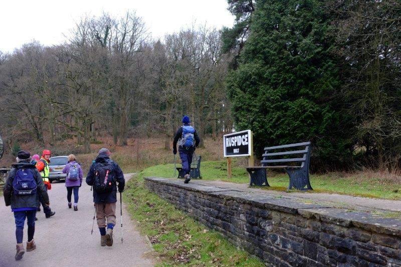 We pass the site of Ruspidge Halt
