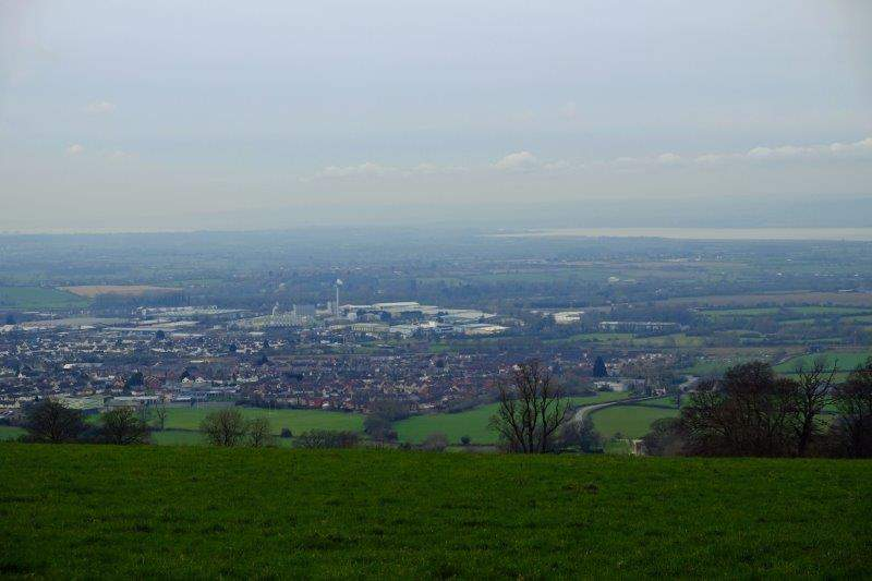 Views down into the Severn Valley