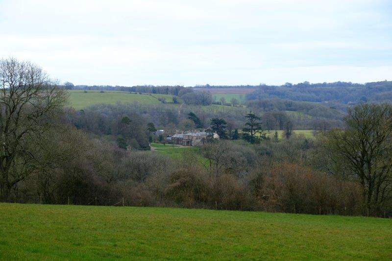 With a backward look at Ozleworth House