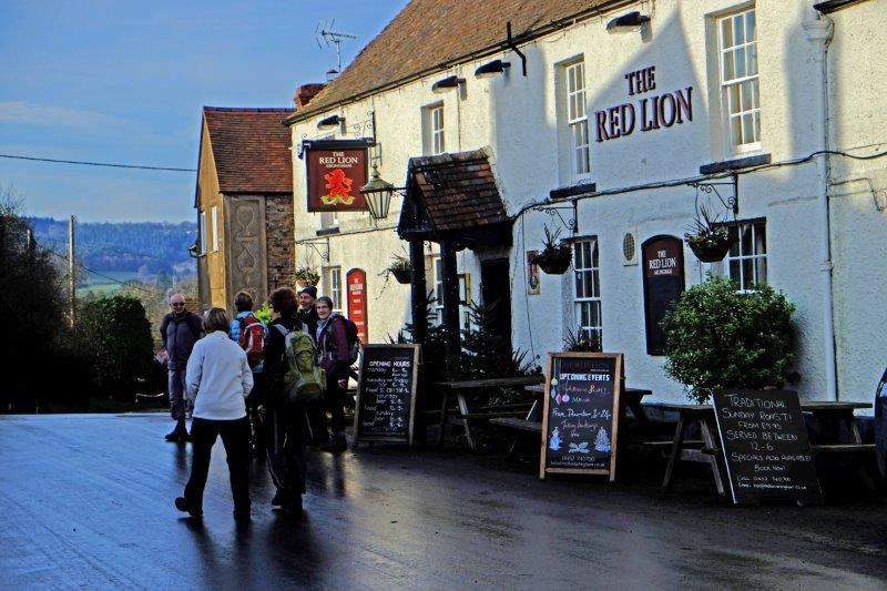 Getting back to the Red Lion