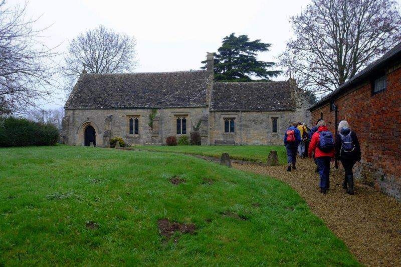 To Frocester Church