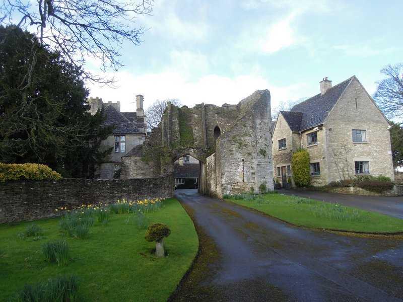 We pass Beverston Castle