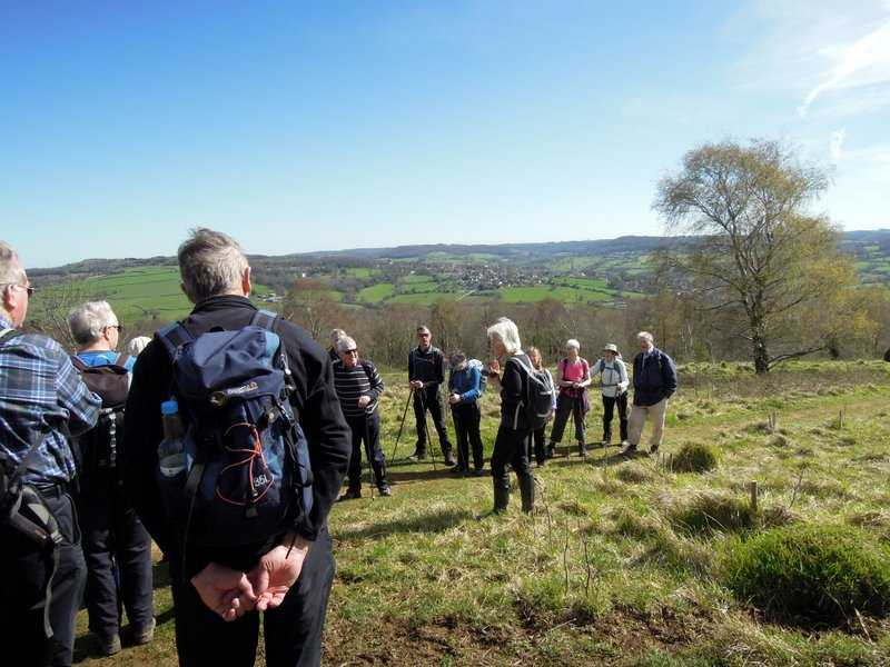 And Jill tells us a bit about the problems that she met near Harescombe on the walkover
