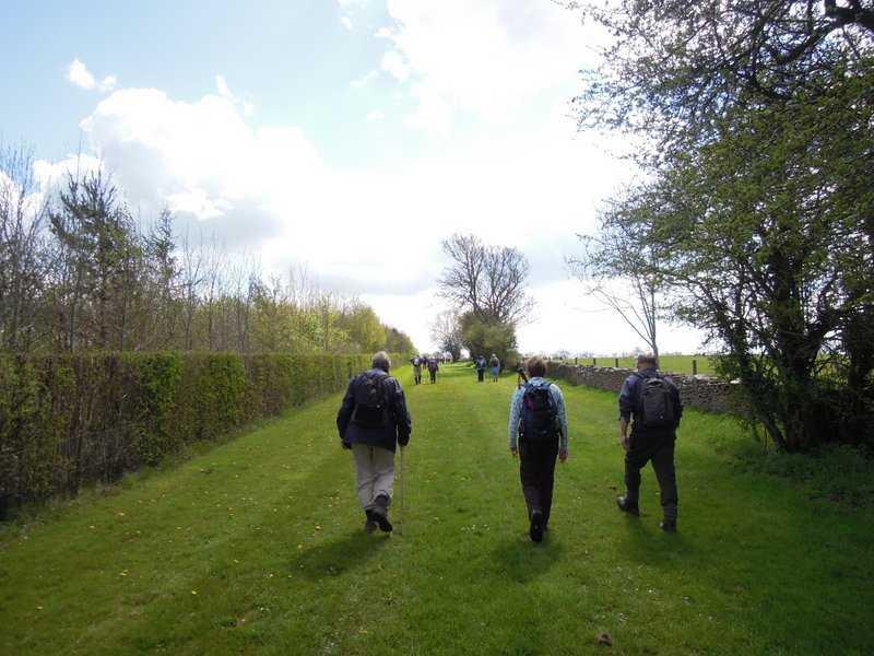 Back towards the Estcourt Estate