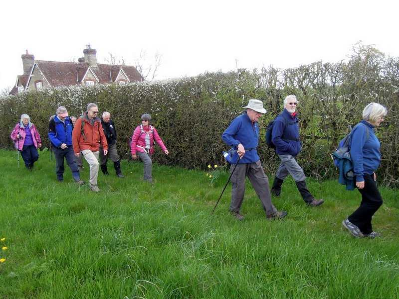 And return towards the village