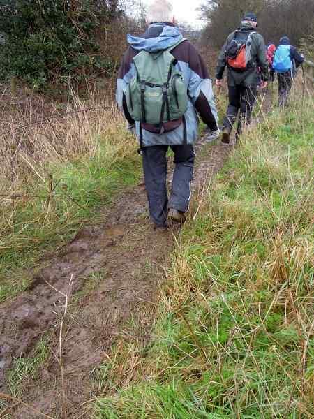 And muddy