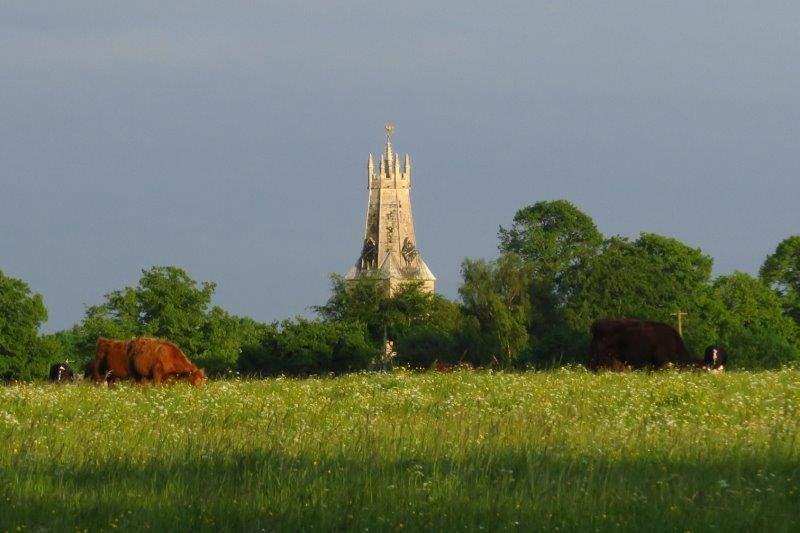 Minchinhampton Church across the Common