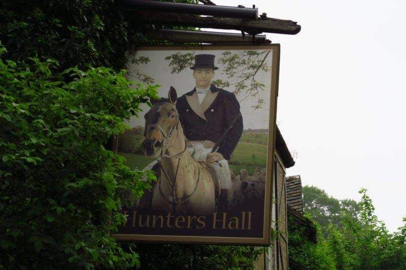 At the Hunters Hall