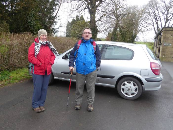 Only Steve turns up for the start of our walk but rain is not forecast until 3 p.m. so we decide to go ahead
