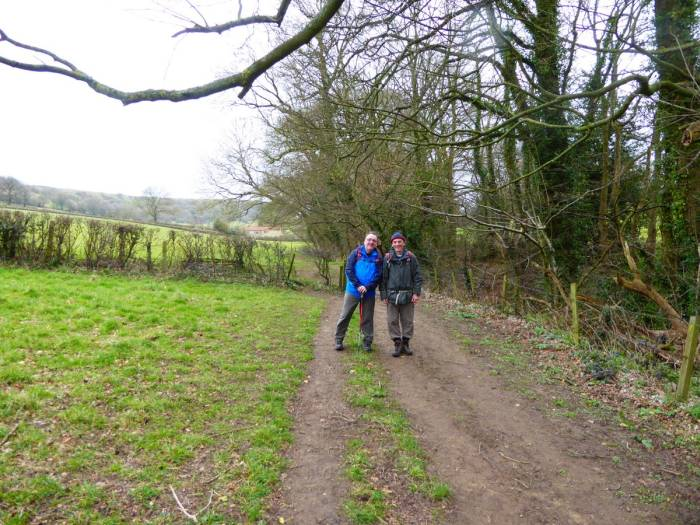 We head over fields to Dursley