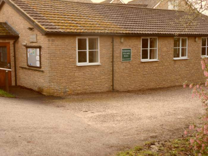 Past Winstone Village Hall