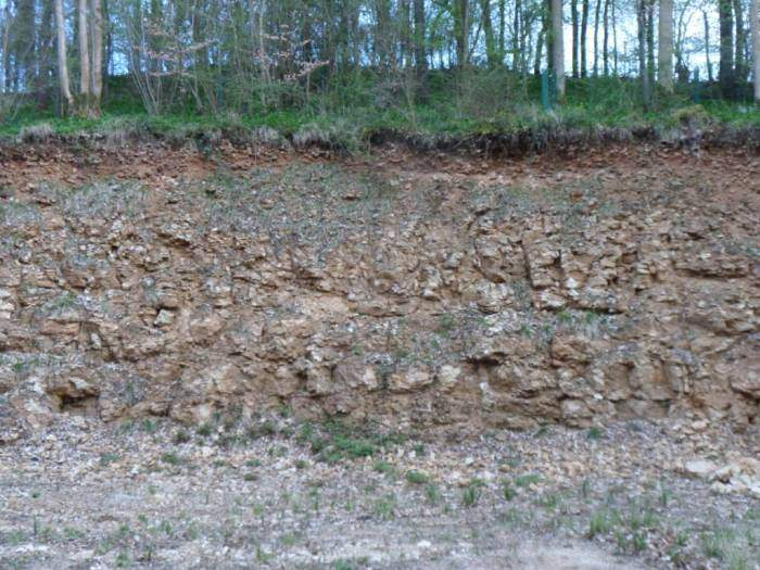 To a quarry