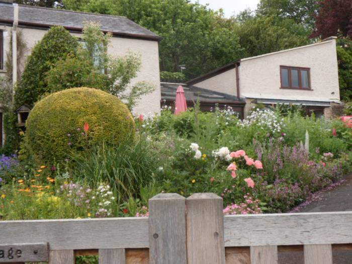 Another lovely garden - but it was Box Open Gardens at the weekend - so you would expect this