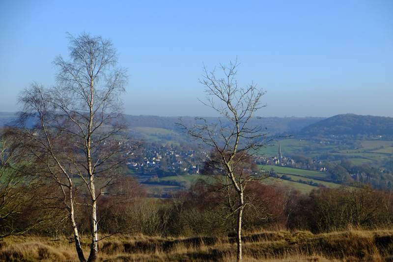 Views over to Painswick