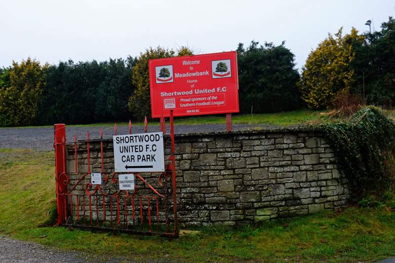 Then Shortwood United Football Ground