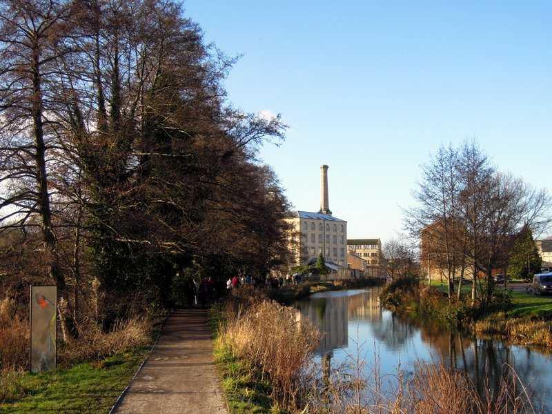 We approach Ebley Mill