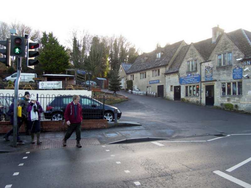 Passing the Clothiers Arms