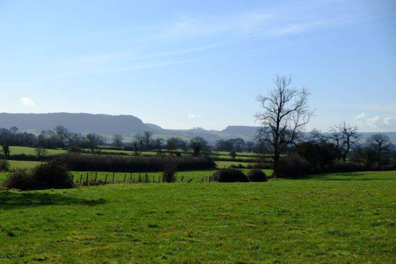 With views of Frocester Hill, Downham Hill and Cam Long Down
