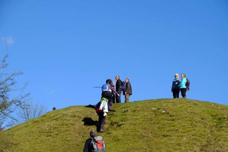 As we reach the top of the Beacon