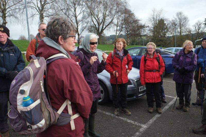 Leisure Centre CP as we prepare for another assault on the Painswick  Valley - this time lead by Jill and Sue