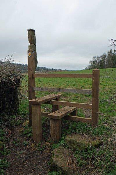 A very sturdy stile - a bit better than the one it replaced