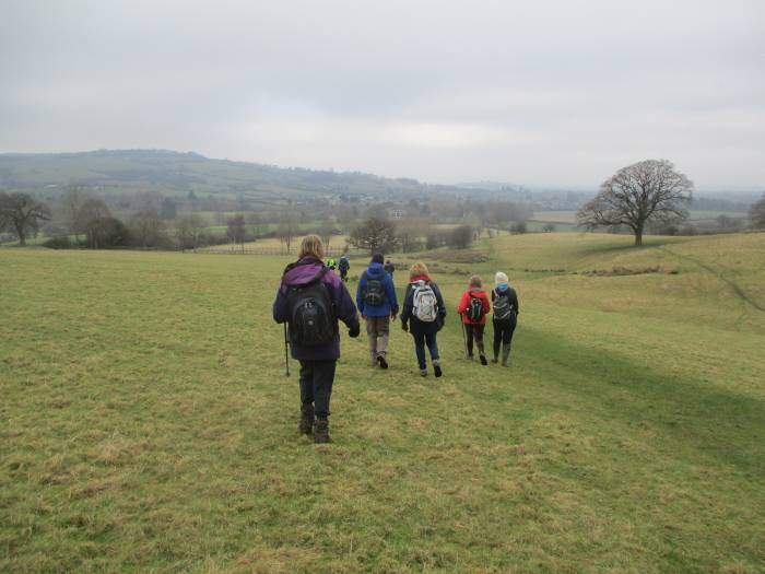 We follow the Cotswold Way