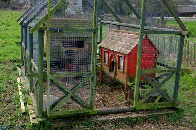 What you might call a stately home of chicken coops