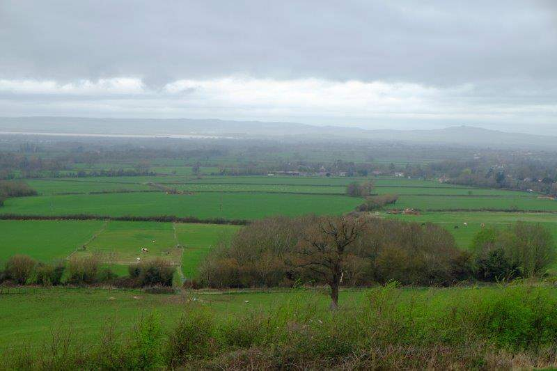 Views now over the Severn